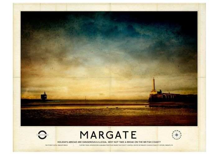 The Fitzroy - Poster B: 'Margate' by Gary Haslam