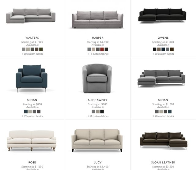 Online Sofa Shopping + A $1000 Giveaway - Emily A. Clark