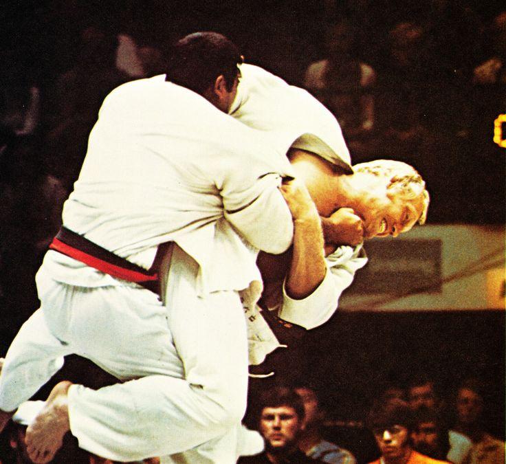 Judo Champion Wim Ruska © United Press International, 1972 #judo #sport #jump #martialarts #photography