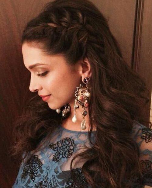 Adorable Deepika Padukone Braided Hairstyles