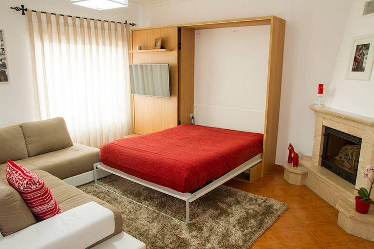 Cama oculta para convidados : Beds & headboards by GenesisDecor