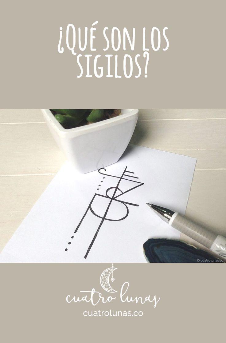 Los sigilos son símbolos que se pueden usar para hacer diferentes tipos de magia.