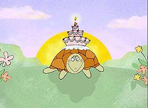 Tarjeta de cumpleaños atrasado - Correomagico | Mágicas postales animadas gratis