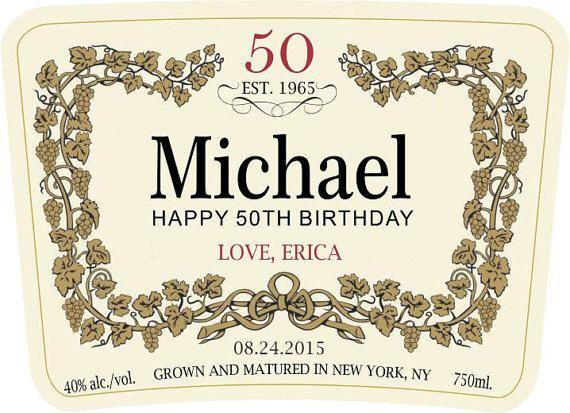 Custom Hennessy Label ( Gift for men of class) by VTLABELS on Etsy https://www.etsy.com/listing/221283879/custom-hennessy-label-gift-for-men-of