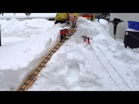 Station ski en Lego - YouTube