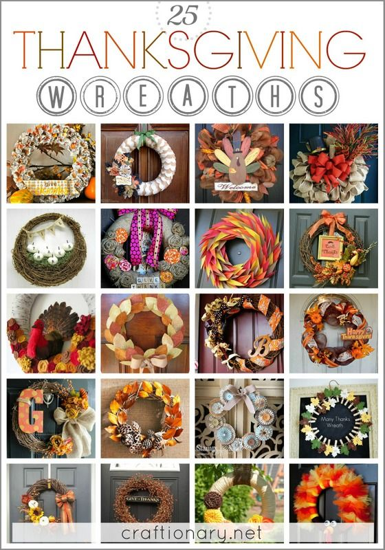 Best Thanksgiving wreaths #wreaths #thanksgiving--bunch of wreath ideas (change colors for seasons/holidays)