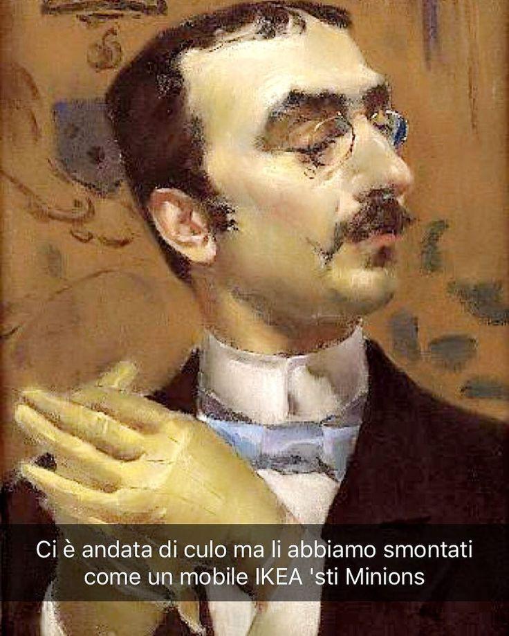 Snapchat: stefanoguerrera Ritratto di Henri de Toulouse-Lautrec - Giovanni Boldini (1890 ca.) #seiquadripotesseroparlare