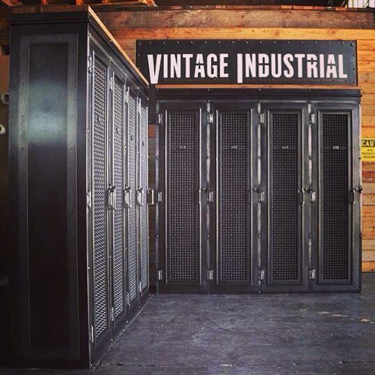 New design - Vintage Industrial lockers