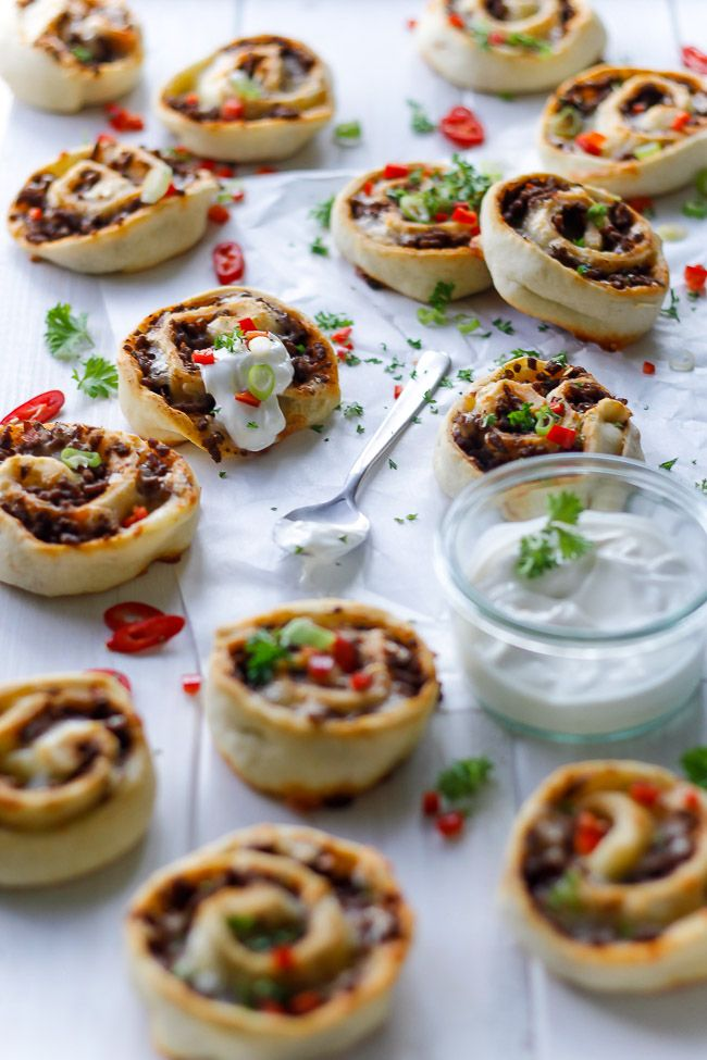 texmex snegle - pizza snegle - madpakke - opskrift - mexicansk mad