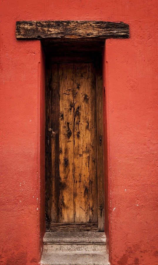 Mixco, Guatemala City, Guatemala.  Hmmmmm....might have to lose a few pounds to fit through that door...lol.