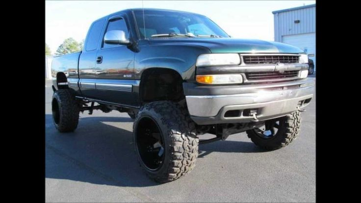 Chevy Truck Lifted >> 2002 Chevrolet Silverado 1500 LS Lifted Truck For Sale | Lifted Chevy Trucks Videos | Pinterest ...