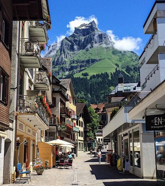 Engelberg,  Courtesy of @Miracolei  Find us on Facebook, link in our bio #Switzerland_Vacations