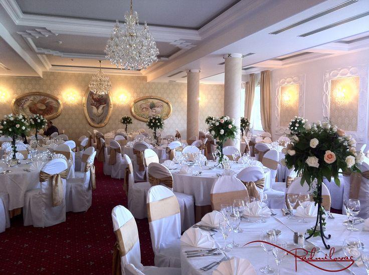 Kristal sala  #radmilovac #weddings #vencanja #proslave #dekoracija #ruze #roses #decoration