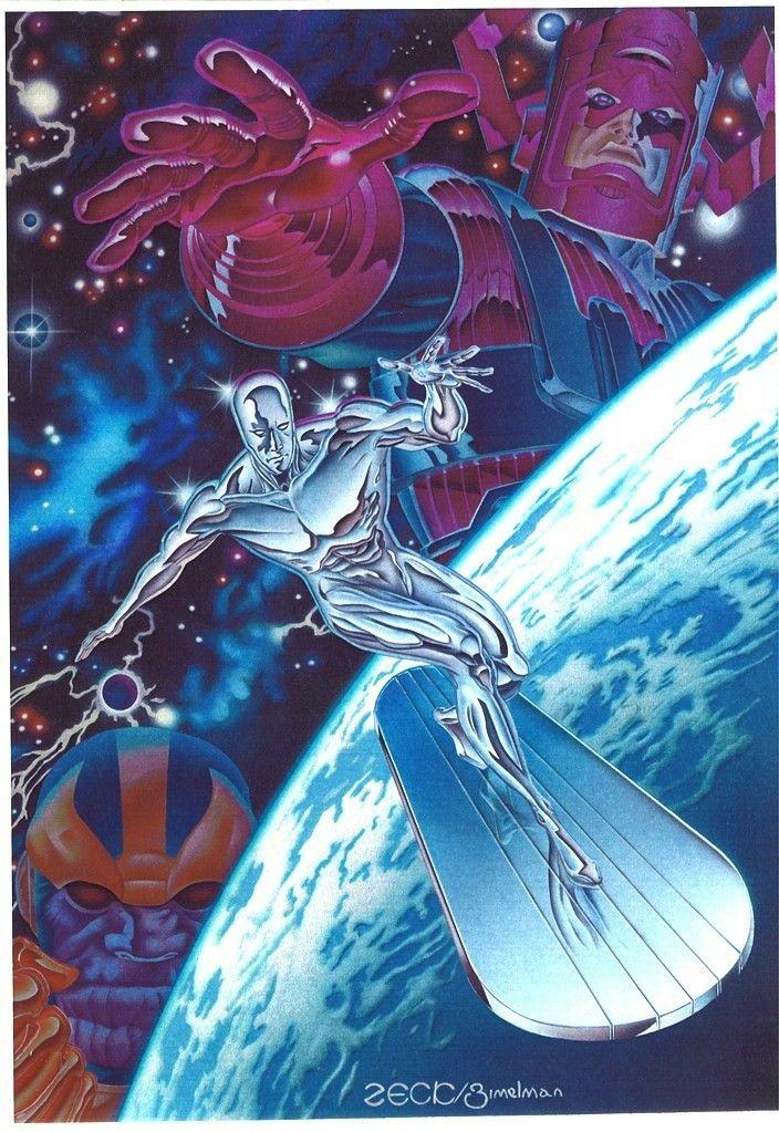 Silver Surfer, Galactus & Thanos