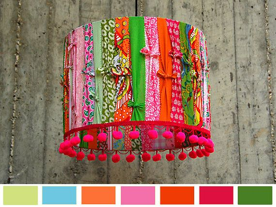 Hey, I found this really awesome Etsy listing at https://www.etsy.com/listing/109702656/primavera-sorbete-happy-lampshade