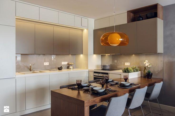 Mieszkanie w Gdyni 2013 - Średnia kuchnia, styl nowoczesny - zdjęcie od formativ. kasia i michał dudko