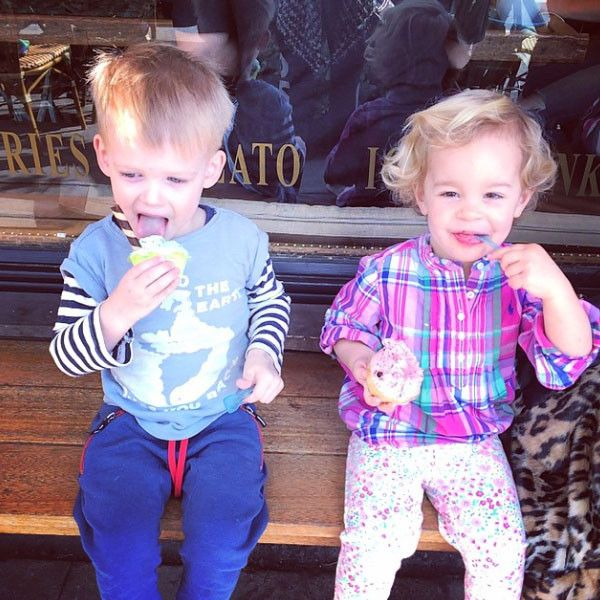 Hilary Duff's Son Luca and Jack Osbourne's Daughter Pearl Have an Adorable Ice Cream Date—See the Cute Pics!  Hilary Duff, Jack Osbourne, Luca, Pearl, Instagram