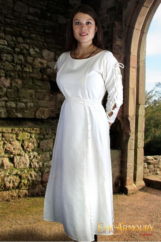 Priestess Dress White