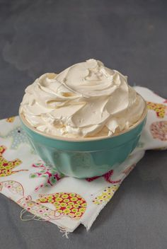 Buttercream de meringue Suisse