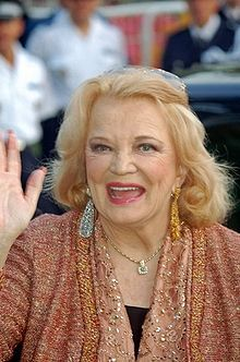 Gena Rowlands - holy crap! i did NOT know she was from Wisconsin! she's from the Notebook!