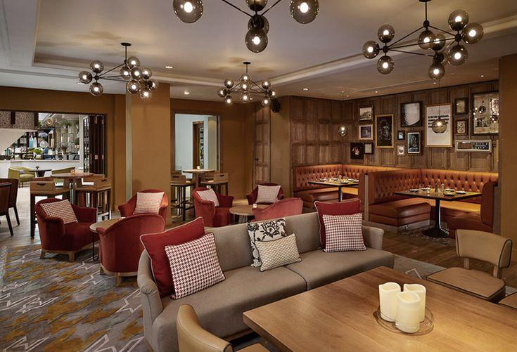 Hyatt Regency Birmingham |   Contemporary Mid-Century, Contract Furniture, Hospitality Furniture | #Upholsteredsofas #Velvetsofa #modernsofas | More:  https://www.brabbucontract.com/collection/upholstery