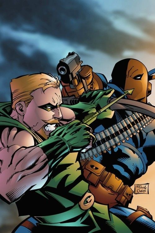 Green Arrow vs Deathstroke - Scott Mcdaniel