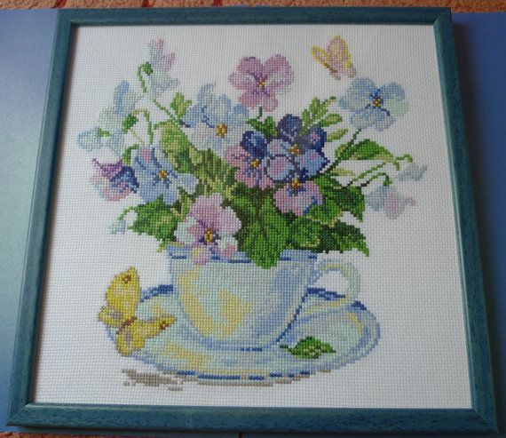 Handmade BIG Cross Stitching Cross-Stitch Picture by ForCollecting