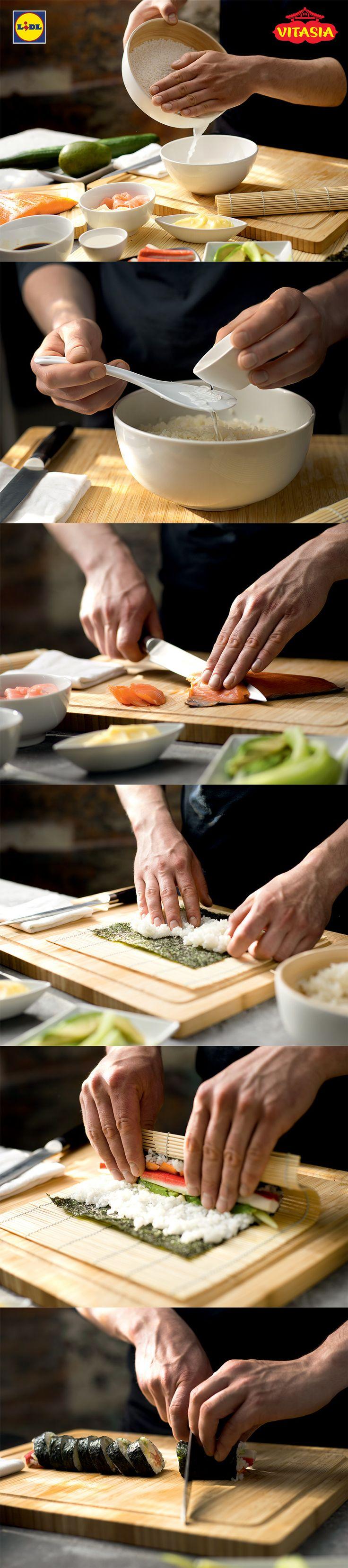 Kurs robienia sushi #sushi #home #made #kurs
