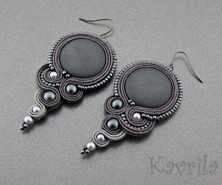 Loving these earrings by Kavrila