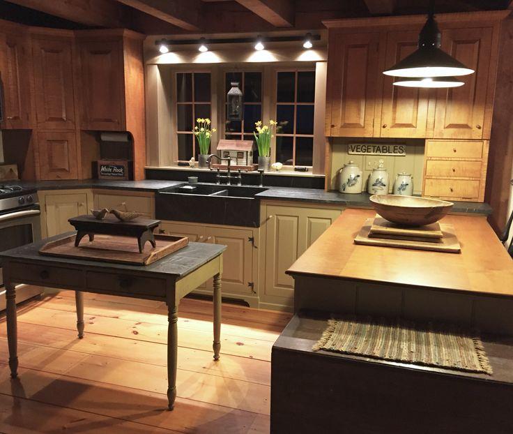 625 Best Primitive/Colonial Kitchens Images On Pinterest