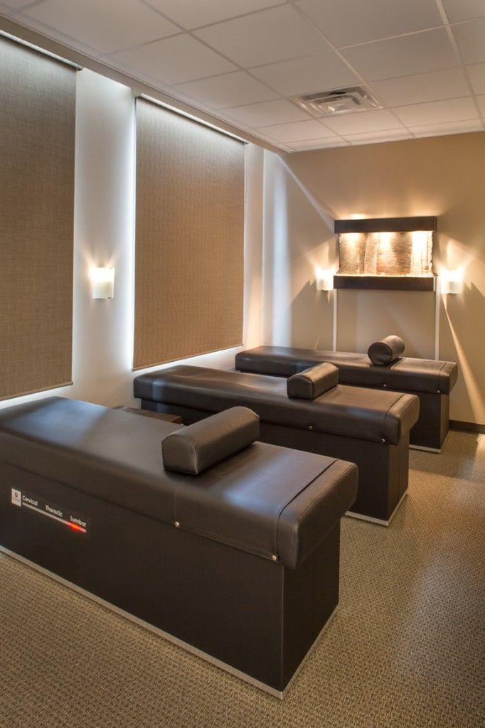 Corrective Chiropractic Space Plan | Custom Chiropractic Design | Chiropractic Office Design