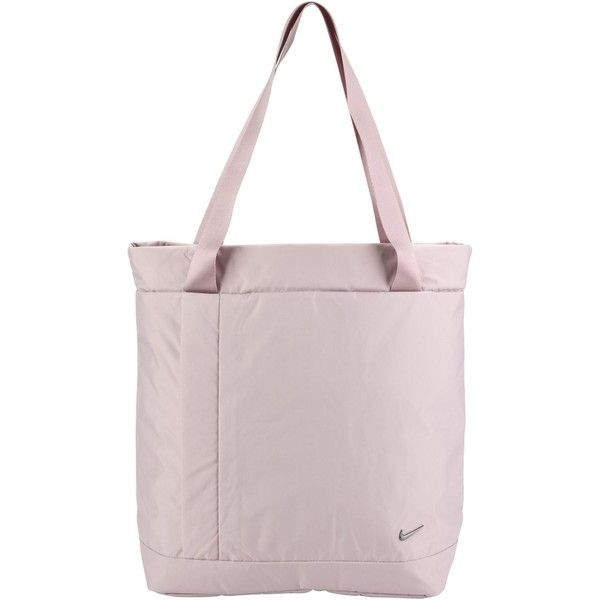 Nike Shoulder Bag (917.890 IDR) ❤ liked on Polyvore featuring bags, handbags, shoulder bags, pink, zipper handbags, shopper handbag, nike shoulder bag, pink shoulder bag and zip shoulder bag