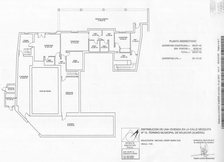 House Plan Lower Floor