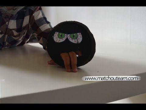 Ma Tchou team: Marionnette petit monstre