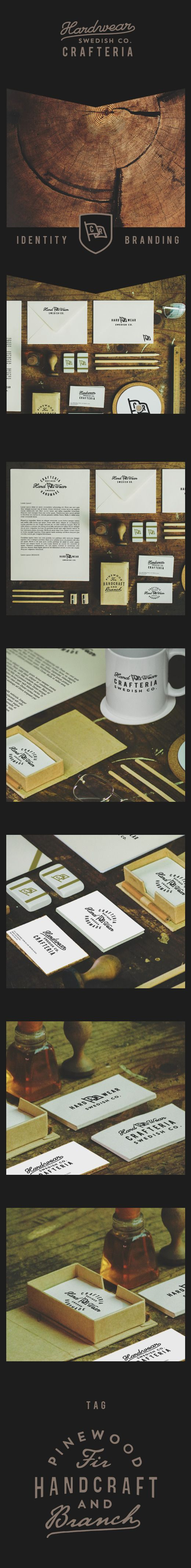 Hardwear Swedish Co. Crafteria branding | Authentic China Identity by Yohanes Raymond