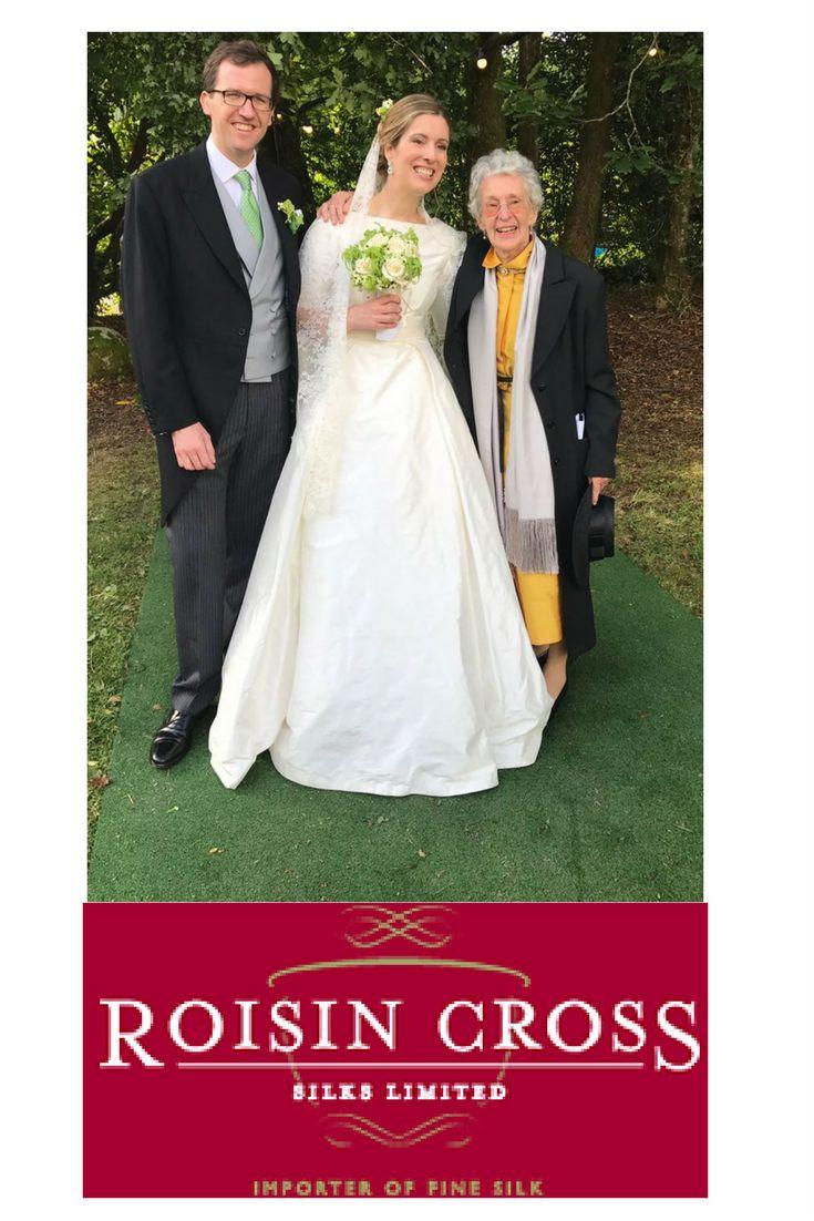 Ivory Silk Dupion Bridal Gown