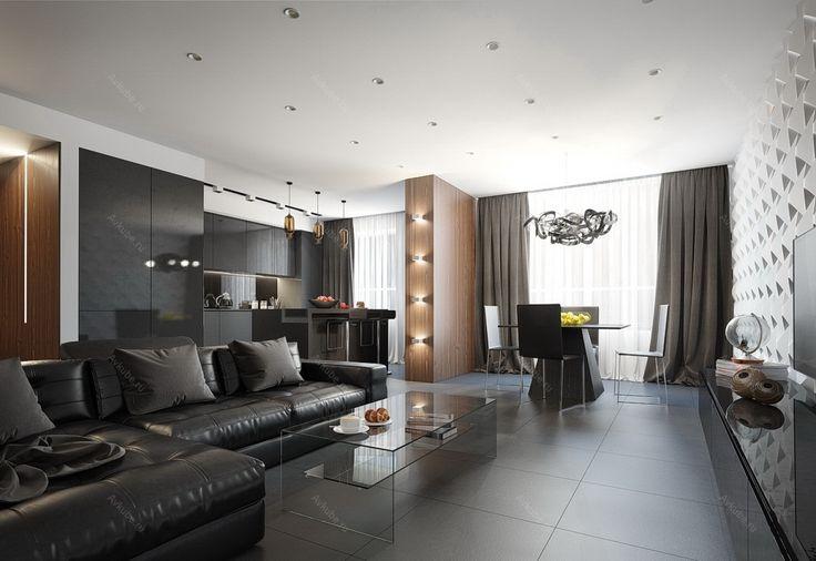 Дизайн квартиры 223 | Портфолио интерьеров студии Авкубе