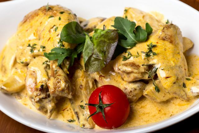 ¡Muslos de pollo al horno con curry! ¡Tienes que probarlos!  #PolloAlHorno #PolloAlHornoConCurry #RecetasDePolloAlHorno #RecetasDePolloEnSalsa #RecetasDePollo