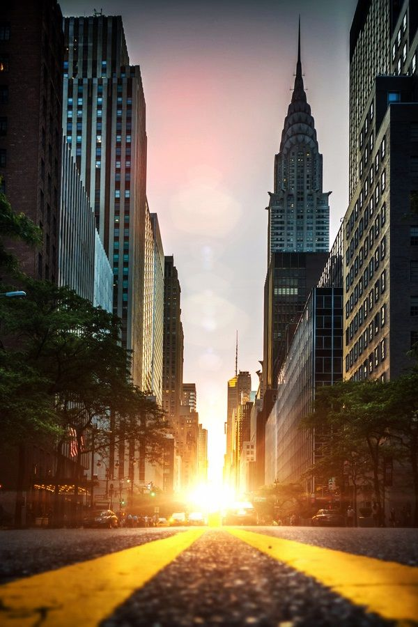 Manhattan Henge | by: {Dan Martland}