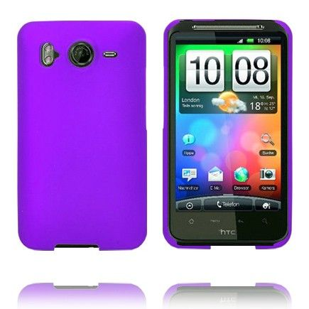 Hard Shell (Violetti) HTC Desire HD Suojakuori