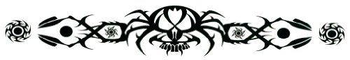 "Spider Lower Back or Armband Temporary Body Art Tattoos 1.5"" x 9"" TMI http://www.amazon.com/dp/B007Z4CG7E/ref=cm_sw_r_pi_dp_l3abwb180Q524"