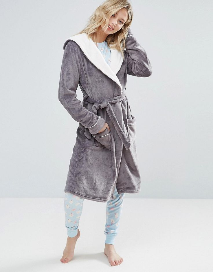 The 7 best Women\'s Dressing gowns :: Basic dressing gown (Asos ...
