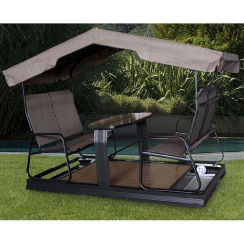 Garden Bridges Costco : Bridgeport seater glider commercial site features
