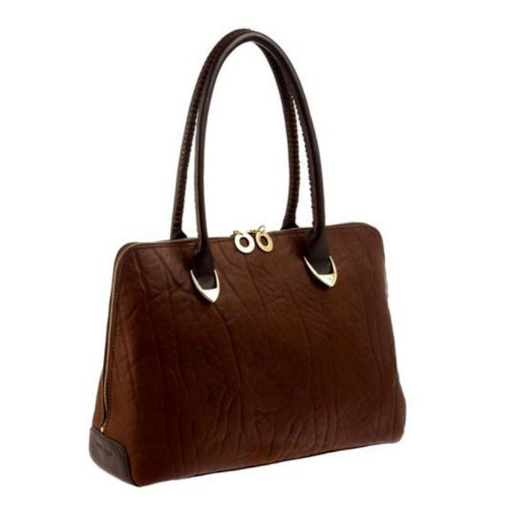 Hidesign by Scully Ladies Handbag - Brown, Women's - H408-09-25
