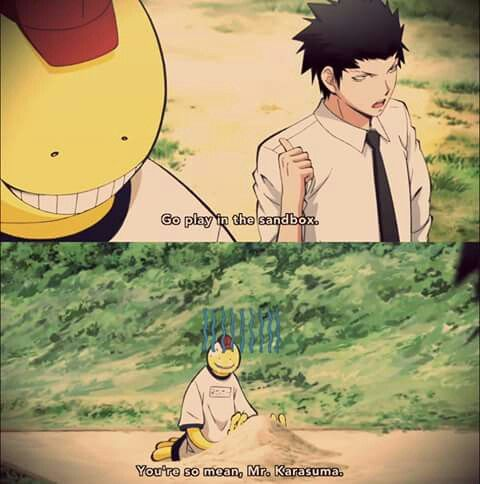 Episode 3 --- Does it anyway...  Assassination classroom