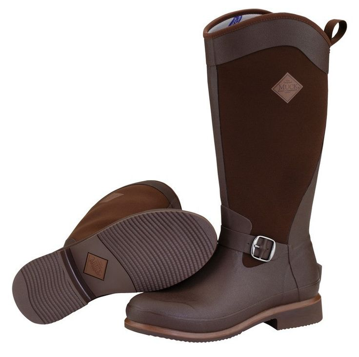 Muck Boots Women's Reign Tall Equestrian Boot - Brown - HeadWest Outfitters