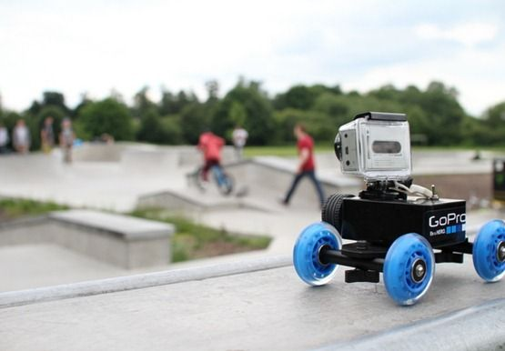 GoPro Dolly - Motor Test - this is a neat idea to take some long-ranging shots