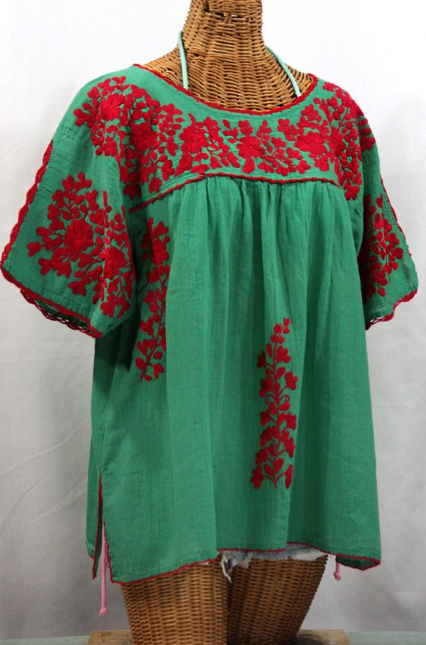 1000 Ideas About Mexican Blouse On Pinterest