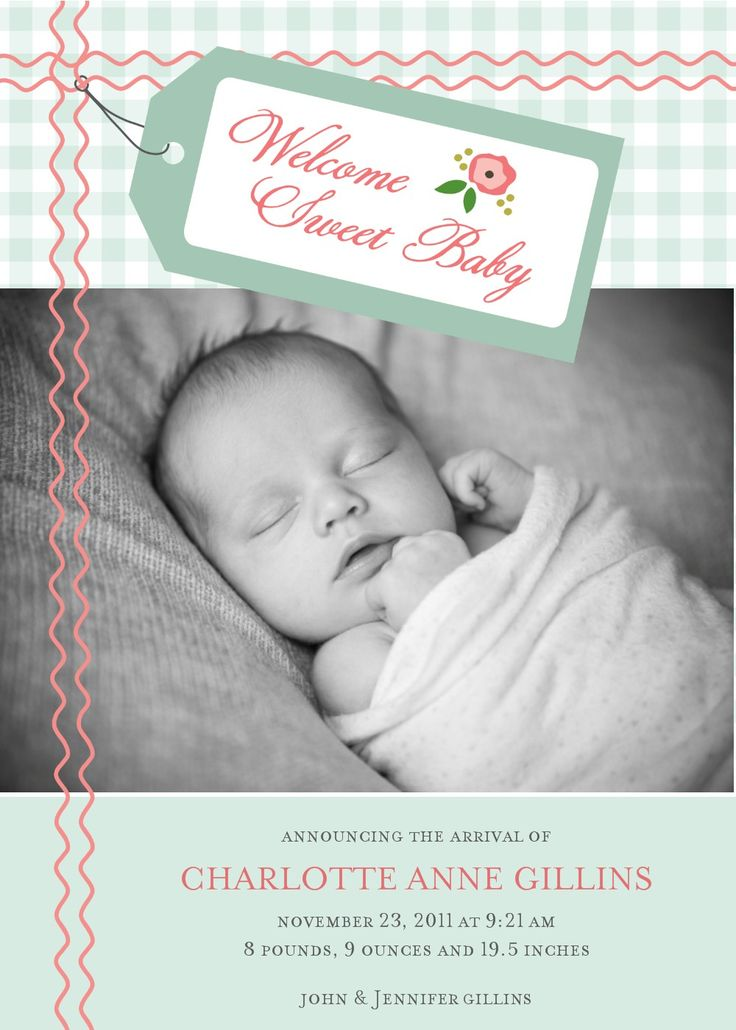 73 best Pregnancy and Birth Announcement Ideas images – Online Baby Announcement Cards