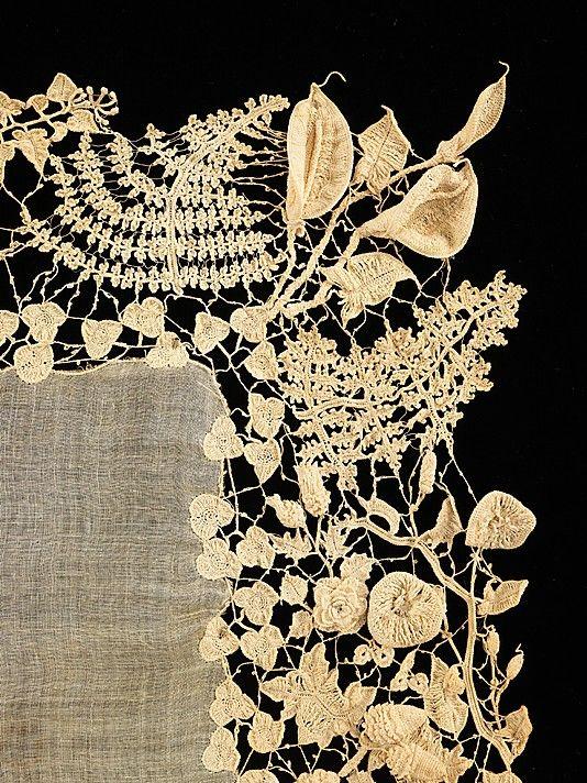 c.1850 Irish crochet lace